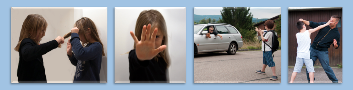 Kinder-Selbstverteidigung
